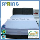Factory wholesale silver clear terry waterproof machine washable mattress protector 10year warrenty