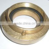 Brass/aluminum storz fire hose coupling for connecting fire hose