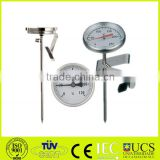 hot water bimetal thermometer cooking bimetal temperature gauge