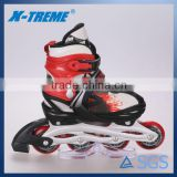 China shoes wholesale 4 pu wheel athletic retractable inline skate shoes