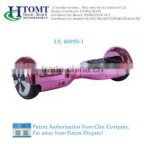 Htomt pink hoverboard with bluetooth speaker hoverboard self balancing skateboard electric hoverboard