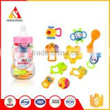 Happy feeder bottle bed hanging baby rattle toys