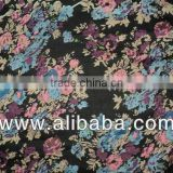 hot sell fabric cotton voile with small flower's printing / 100% Cotton Fabric Voile for Scarf and Home Textile