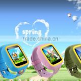 Fashion children' Positioning smart tracking Watch mobile Phone