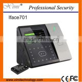4.3'' TFT touch screen optional Web-server GPRS nectwork optional MF card face recognition access controller time attendance
