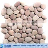Wholesale cheap paving natural pebble stone flooring