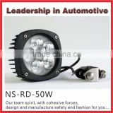 Super bright High lumen High power 50w LED work light spot beam flood beam for trailer tractor