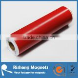 rubber red pvc colored magnetic sheets