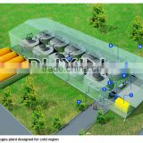 China Brand Puxin Biogas Heating System, Biogas Plant to Generate Electricity, Application Biogas Plant for Sewage Treatment