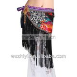 Belly Dance Hip Scarf, Nice Tribal Hip Scarf for Belly Dancer ,Belly Dancing Performance Outfit,Dancing Accessories(YL027)