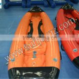 Hot Sale Inflatable Sailing Boat Dugout Canoe Rental River Narrow Boat Sunjoy Inflatables