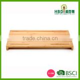 Extra large custom rectangle bamboo butcher cutting board,butcher cutting board with stand
