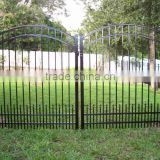 Cheap wrought iron fence panels for sale, cast iron fence ornaments, aluminum fence panels
