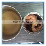manufacturer of 425 grams canned salted mackerel fish in brine(ZNMB0008)