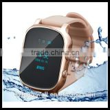 2016 New Arrival touch screen SIM card with GPS waterproof mobile watch phone price in pakistan