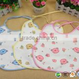 Top Quality Waterproof Cotton Baby Apron, Baby Bellyband Bibs, Washable Breast Pads With Strings