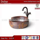 deep bathroom basin for sale, chinese wash basin ,middle east style colored bathroom sink