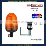 E4 approval 24v amber pc lens aircraft warning lights