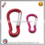 Colorful Metal Aluminum Snap Bag Hook