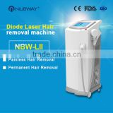 Super strong power!!!! 808nm diode laser hair removal from nubway permanent hair removal