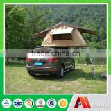 canvas fabric hard shell car rooftop tent for sale