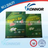 Strong adhesive cardboard mouse glue traps,Konnor disposable powerful mouse and rat glue traps
