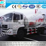 DongFeng 6.8.10.12 CBM concrete mixer truck , mixer concrete truck, volumetric mixer truck with 6x4 mixer truck sale