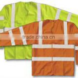 safety road vest with good PVC tape ,mesh road vest with 120gsm mesh ,reflective road vest with Hi Vis