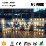 circus LED LOVE letter marquee light for backdrop events