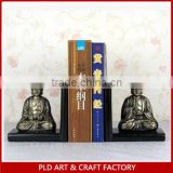 Home decorative buddha resin bookends