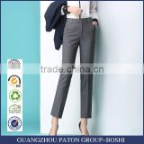 Casual business suit pants nine pants dress show small occupation all-match smoke tube small straight legged trousers custom