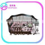 Baby girl forest pink crib bedding sets