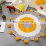 2017 wholesale best selling children kids knit circle blanket