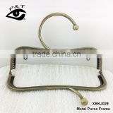 2017 new metal purse frame as bag accessories for bag close or protection with big round clasp