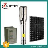 dc solar submersible pump Exported to 58 Countries solar powered submersible deep water well pump