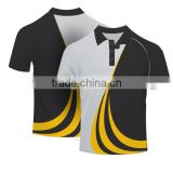 Latest Custom Yarn Dyeing Polo Collar and Cuff T-Shirts Fashion Choose Men Garment for Polo Shirt Factory Direct