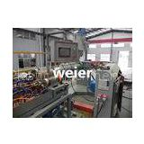 Automatic PE Plastic Pipe Extrusion Line For PE Spiral Wrapping Band Protective Sleeve