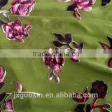 PRINTED BURN OUT SILK FABRIC