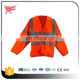 2017 3m reflective safety jacket with OEM design KF-063-O