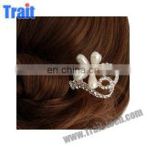 Elegant Linear Shaped Pearls Style/ Headwear Hair Comb Pearl
