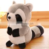 Plush soft racoon animal stuffed kids toys