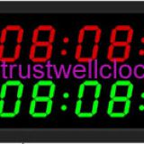 digital analog clock