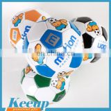 Custom Machine Stitched PVC Mini Promotional Rubber Football Soccer Ball