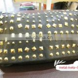 2014 hot metal rivets for leather bags
