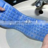 Fashion waterproof Silicone soft keyboard