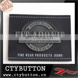 label for fine wear jeans product leather label factory