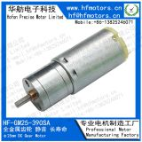 High Precision Gear Motor 25mm RoHS / ISO / TS16949 Certificated GM25-395SA