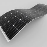 Easy installation 325w Flexible mono solar panel