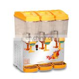 PL-351A Refrigerator 3 Tanks Juice Cold Drink Dispenser Machine