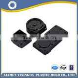 2015 OEM supplied high quality insert molding part, plastic part with metal insert, ISO9001:2008 certified
